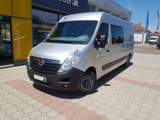 Opel Movano Crew Van 2.3 CDTI 107 kW MT6 - nije uvoz, odlična ponuda!!